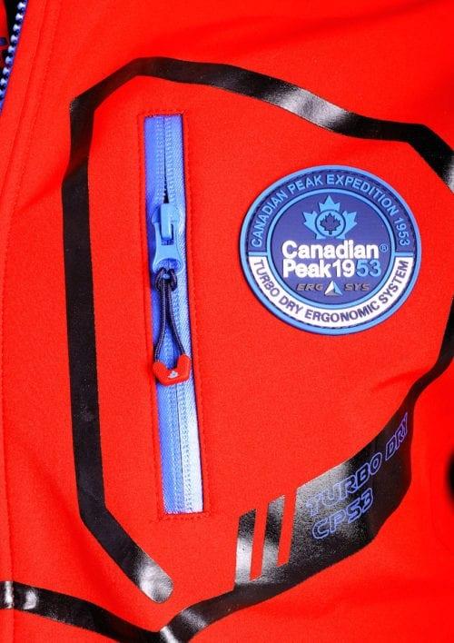 Canadian Peak Softshell jas heren Rood Terle Softshell jacks (3)