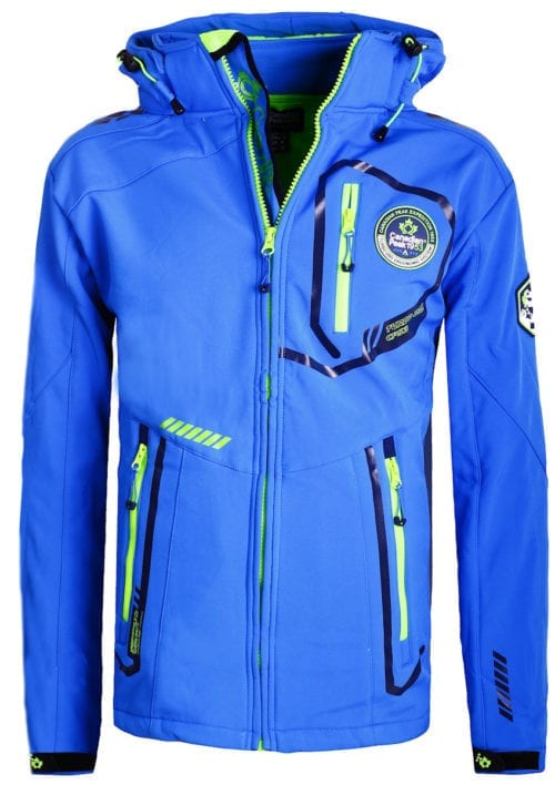 Canadian Peak Softshell jas heren kobalt Terle Softshell jacks (2)