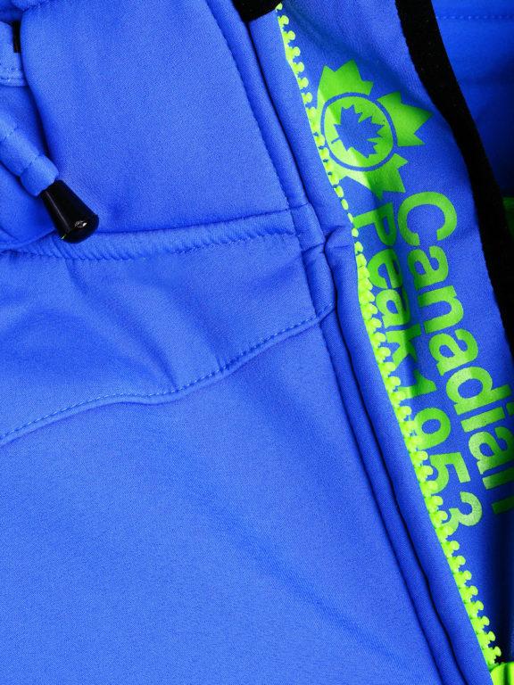 Canadian Peak Softshell jas heren kobalt Terle Softshell jacks (4)