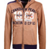 Canadian Peak Vest met capuchon Bruin Heren Sweaters Fanika (1)