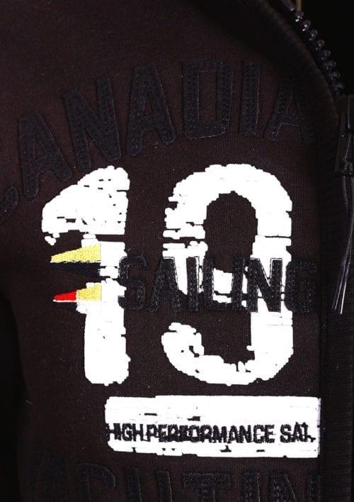 Canadian Peak Vest met capuchon Zwart Heren Sweaters Fanika (3)