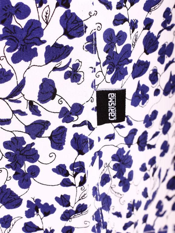 Carisma bloemenoverhemd lange mouw wit shirt met bloemenprint 8417 (1)