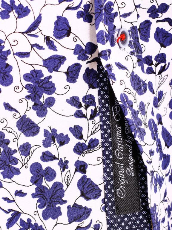Carisma bloemenoverhemd lange mouw wit shirt met bloemenprint 8417 (5)