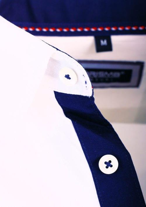 Carisma wit overhemd lange mouw klassieke boord met stretch 8441 (3)