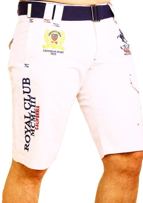 Geographical Norway Bermuda Wit Royal Club Papillon (3)