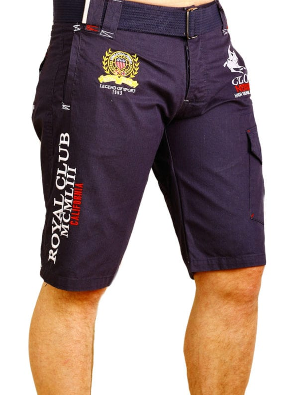 Geographical Norway Korte broek Blauw Royal Club Papillon (2)