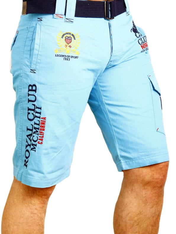 Geographical Norway Korte broek Turquoise Royal Club Papillon (2)