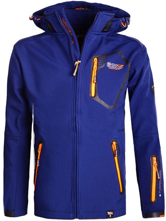 Geographical Norway Softshell jas heren Blauw Tanada Softshell jacks (2)