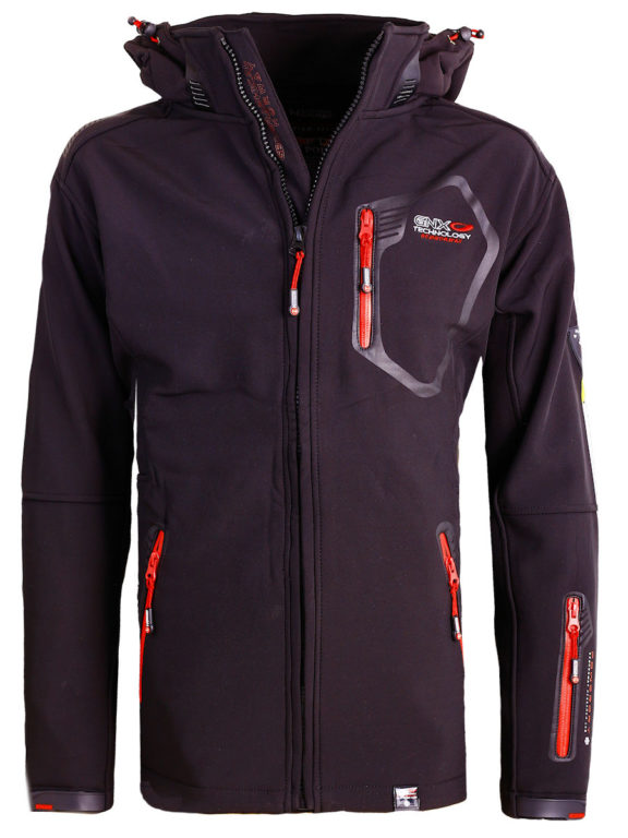 Geographical Norway Softshell jas heren Zwart Tanada Softshell jacks (2)