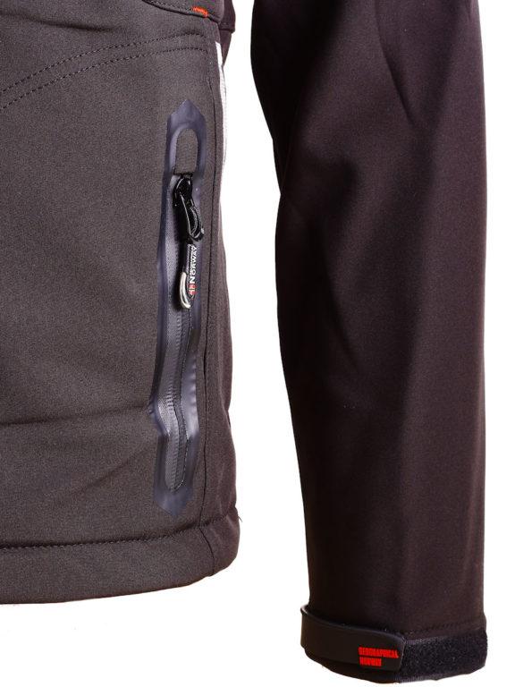 Geographical Norway Softshell jas zwart heren Techno softshell jackets Bendelli (7)
