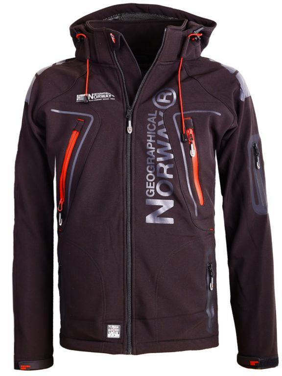 Geographical Norway Softshell jas zwart heren Techno softshell jackets Bendelli (9)