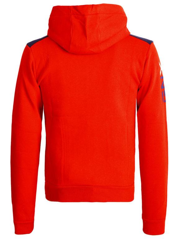 Geographical Norway Vest met capuchon Rood Heren Sweaters Gamacho (1)