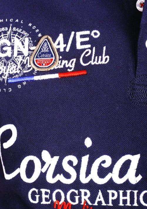 Geographical Norway polo shirt heren blauw Corsica Island Kulampo (2)