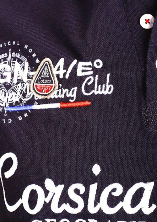 Geographical Norway polo shirt heren zwart Corsica Island Kulampo (3)