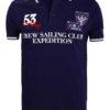 Geographical Norway Polo Shirt Blauw Sailing Club Shirts Kebastien (2)