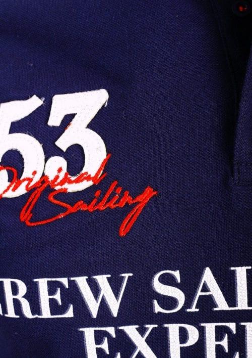 Geographical Norway Polo Shirt Blauw Sailing Club Shirts Kebastien (3)
