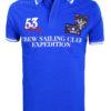 Geographical Norway Polo Shirt Kobalt blauw Sailing Club Shirts Kebastien (2)