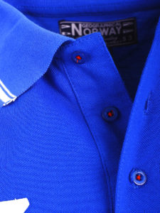 Geographical Norway Polo Shirt Kobalt blauw Sailing Club Shirts Kebastien (5)