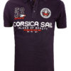 Geographical Norway Polo Shirt Zwart Corsica Island Sail Poloshirts Kibutz (6)