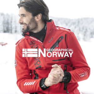 Geographical Norway Softshell jassen waterdicht heren