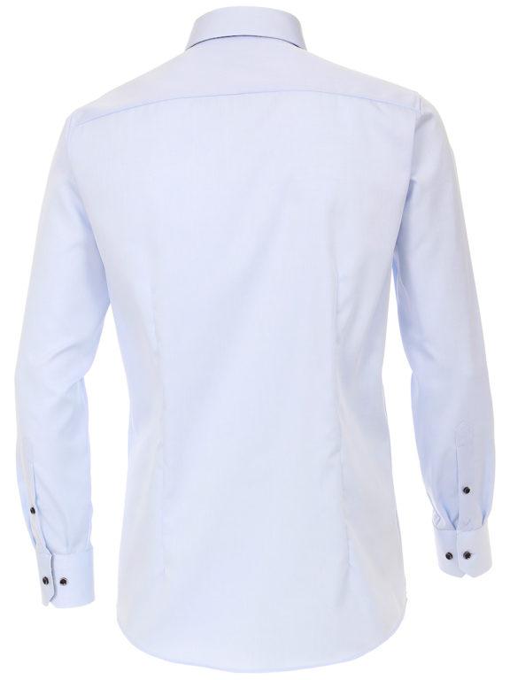Venti overhemd dubbele boord Blauw strijkvrij Bendelli officieel Verkooppunt 103545300-102-3 (3)
