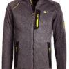 Fleece vest heren Grijs Geographical Norway sweater met rits Trampoline (2)