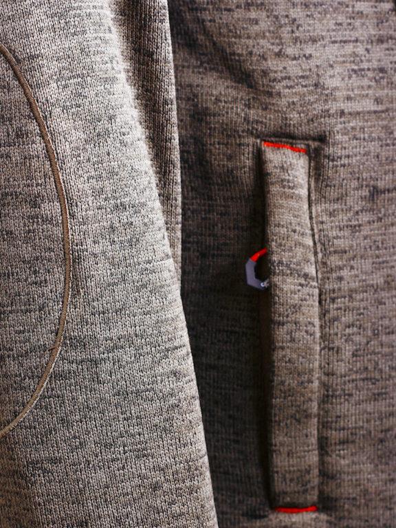 Fleece vest heren met rits Grijs met zwart Canadian Peak Tobiteak verkooppunt Bendelli (10)