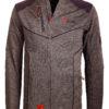 Fleece vest heren met rits Grijs met zwart Canadian Peak Tobiteak verkooppunt Bendelli (4)