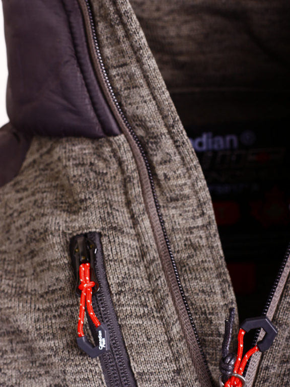 Fleece vest heren met rits Grijs met zwart Canadian Peak Tobiteak verkooppunt Bendelli (8)