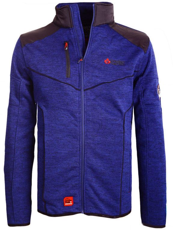 Fleece vest heren met rits blauw Canadian Peak Tobiteak verkooppunt Bendelli (2)