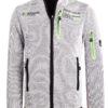 Fleece vest heren met rits grijs Geographical Norway Ulectric (2)