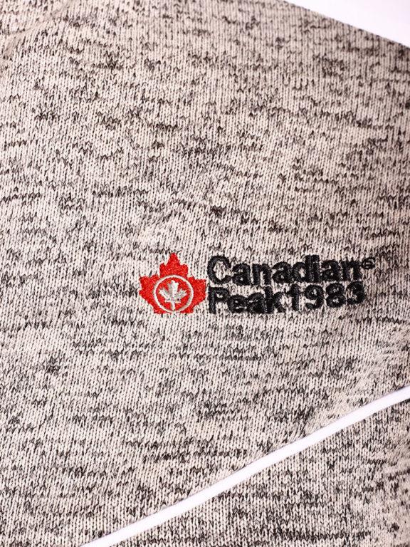Fleece vest heren met rits grijs met wit Canadian Peak Tobiteak verkooppunt Bendelli (4)