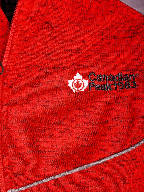 Fleece vest heren met rits rood Canadian Peak Tobiteak verkooppunt Bendelli (8)