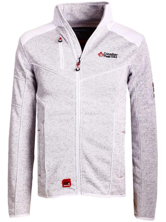 Fleece vest heren met rits wit Canadian Peak Tobiteak verkooppunt Bendelli (10)