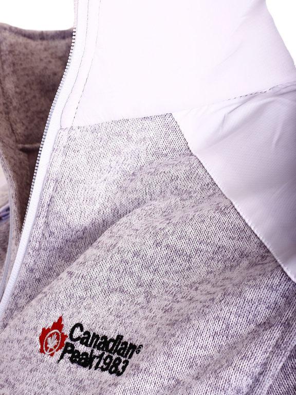Fleece vest heren met rits wit Canadian Peak Tobiteak verkooppunt Bendelli (8)