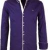 Heren-blouse-lange-mouw-vierkante-knoopjes-Carisma-8245-Blauw (8)
