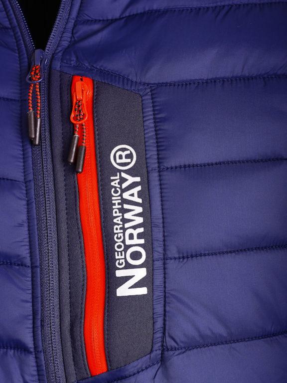 Softshell jas Geographical Norway blauw jas met capuchon Taxon (3)