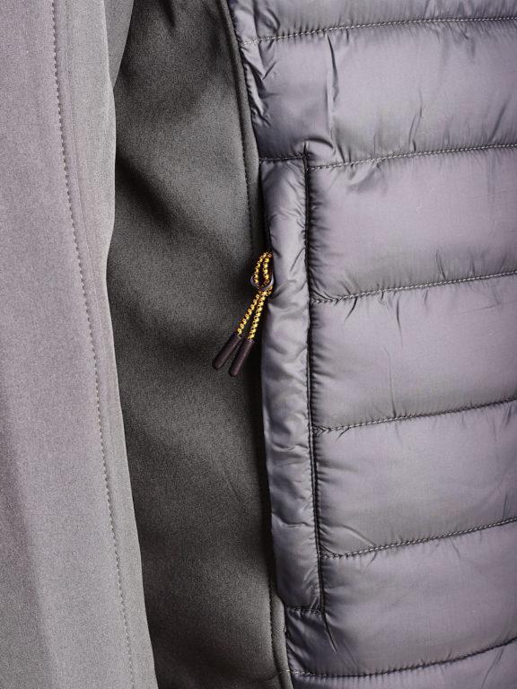 Softshell jas Geographical Norway grijs jas met capuchon Taxon (5)
