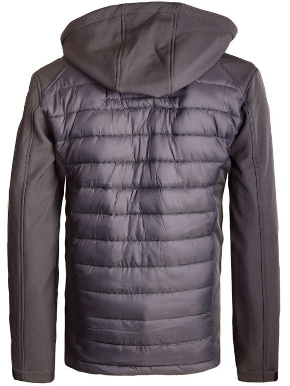 Softshell jas Geographical Norway grijs jas met capuchon Taxon (9)