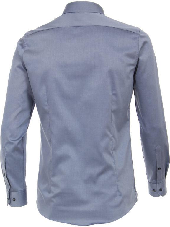 Venti overhemd blauw motief kent boord heren 103522600-100 (2)