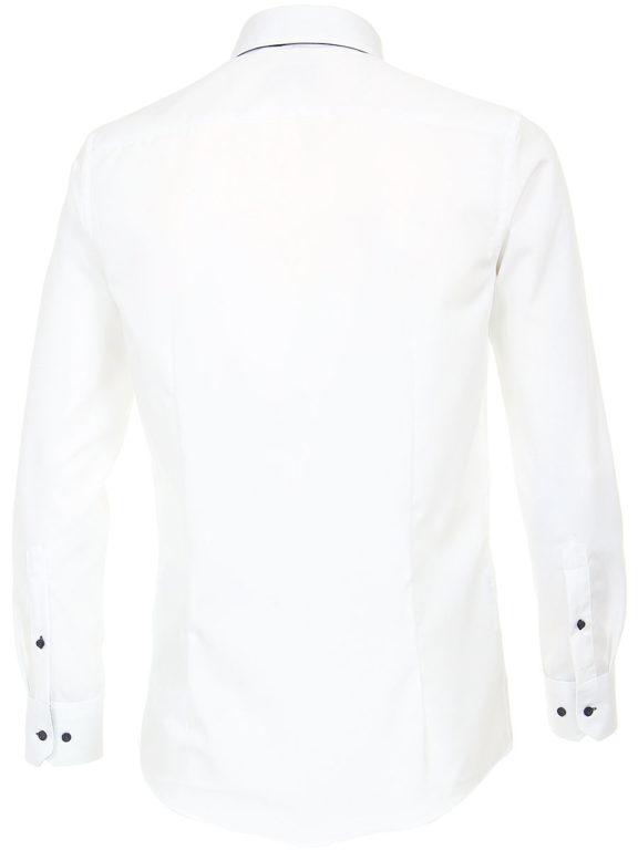 Venti overhemd wit dubbele kraag heren 193320500-001 (3)