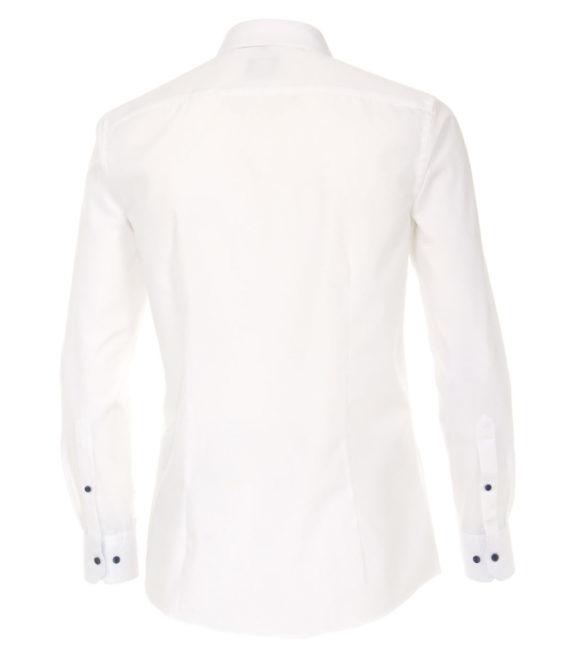 Venti overhemd wit kent boord heren 103454500-001 (3)