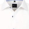 Venti overhemd wit kent boord heren 103454500-001 (4)