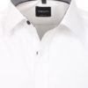 Venti overhemd wit kent boord met zwart motief heren 193295600-001 (4)