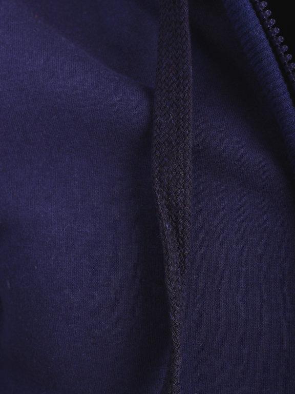 Geographical Norway vest met capuchon blauw Glack (2)