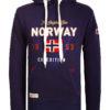 Geographical Norway vest met capuchon blauw Guitre (2)