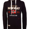 Geographical Norway vest met capuchon zwart Guitre (2)