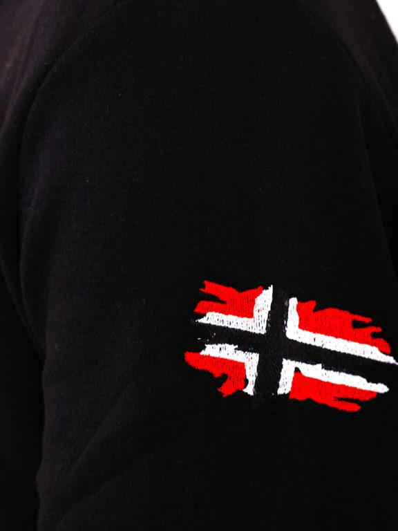 Geographical Norway vest met capuchon zwart Guitre (9)