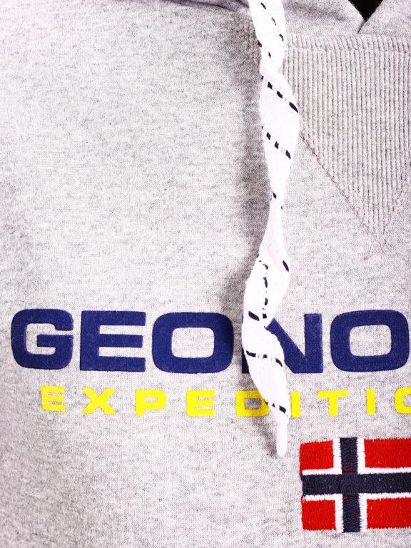 Geographical Norway vesten met capuchon grijs Golivier (3)