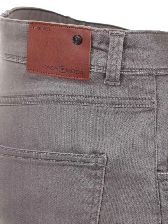 Casa Moda korte broek met stretch Grijs 593198500 (1)